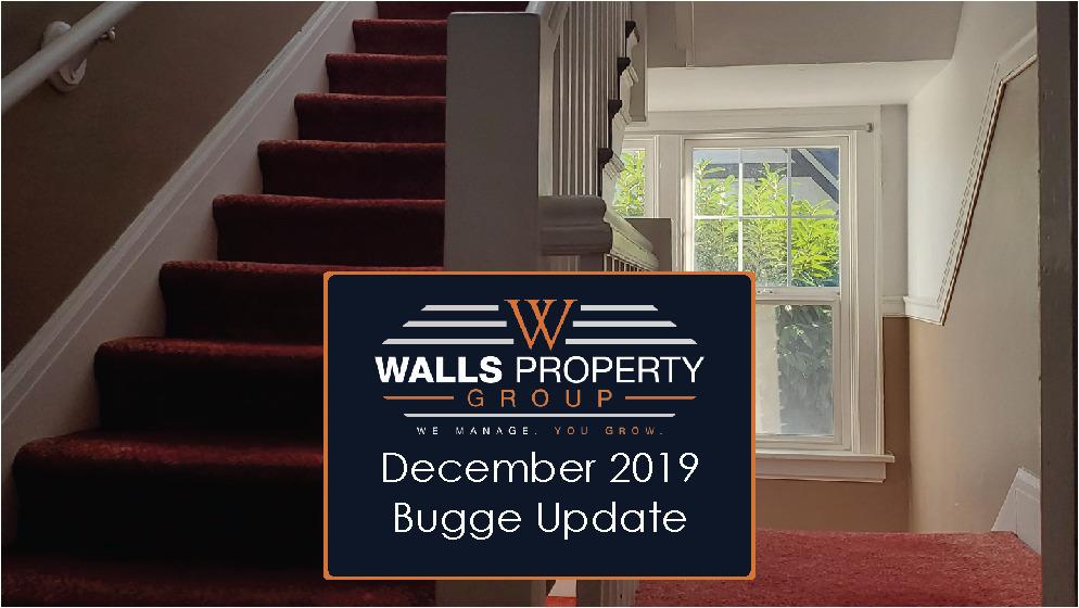 Bugge Update – November 2019